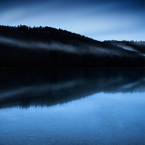 Photo du lac chambon dans la brume, Brok photographie